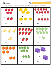 fruit subtract