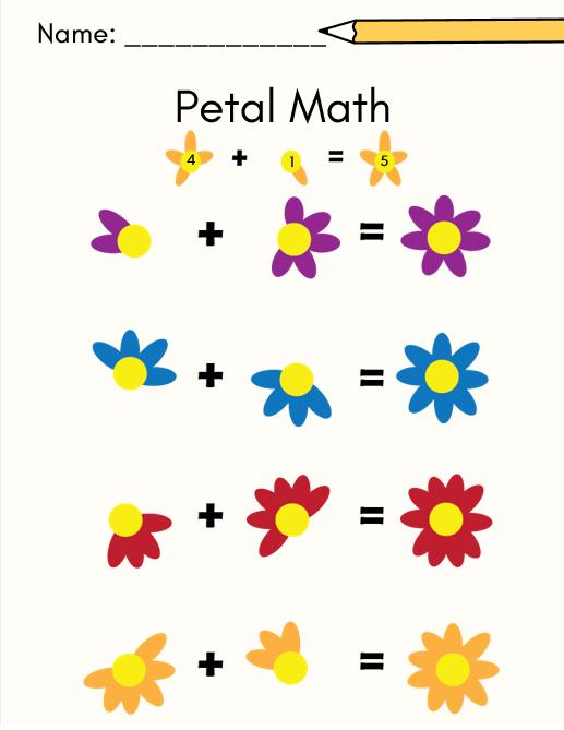 petal math